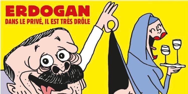 La Turquie furieuse contre une caricature d'Erdogan en Une de Charlie Hebdo