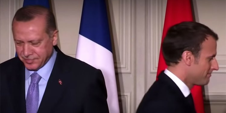Macron a besoin de se faire soigner, selon Erdogan